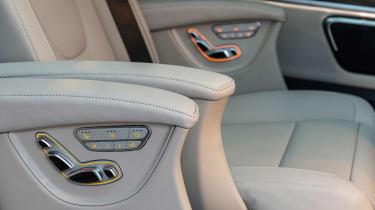 Mercedes V-Class MPV luxury seating