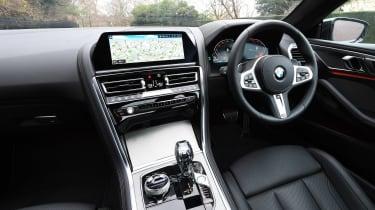 BMW 840d interior