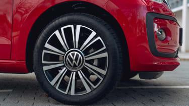 Volkswagen up! hatchback wheel