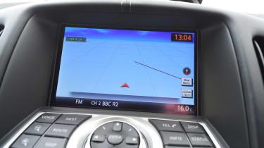 Nissan 370Z coupe sat nav