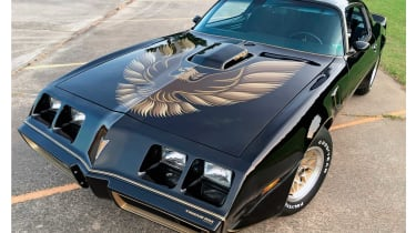 Another film, another iconic muscle car – the Pontiac Firebird Trans-Am has become synonymous with Smokey And The Bandit.