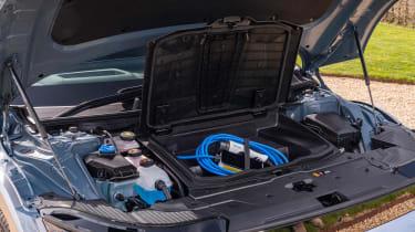 Hyundai Ioniq 5 drive - engine bay