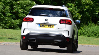 Citroen C5 Aircross SUV rear cornering