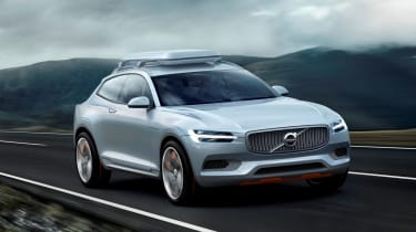 Volvo Concept XC Coupe action