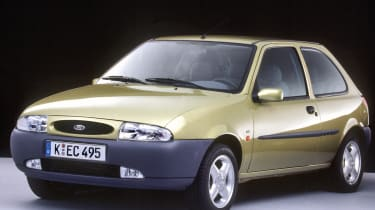 In 1995, the idea of a fast Fiesta was put on ice