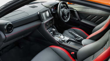 Nissan GT-R coupe interior