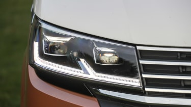 Volkswagen California headlights