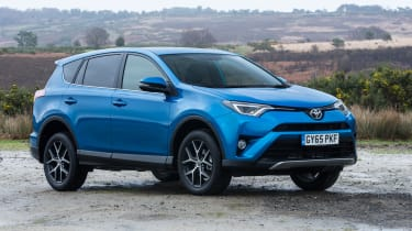 For peace of mind, the Toyota RAV4 comes with a five–year/100,000-mile warranty