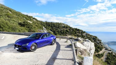 Engines include a 3.0-litre diesel and two petrol engines with 345 and 424bhp respectively
