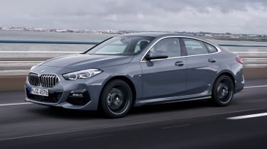 BMW 2 Series Gran Coupe saloon front 3/4 action