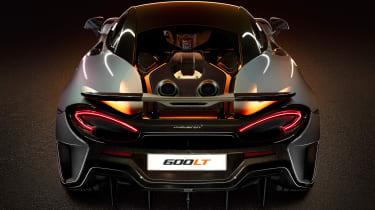 McLaren 600LT rear deck