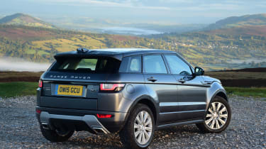 The most economical version is the 150bhp Ingenium diesel, which can return up to 65.7mpg in the five-door Evoque