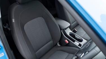Hyundai Kona SUV front seats