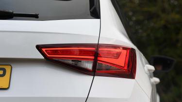 Cupra Ateca SUV - tail-light close-up