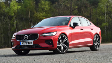 Volvo S60 saloon front 3/4 static