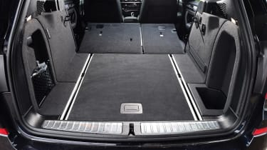 Flipping the rear seats forwards expands this to 1,600 litres, with a smooth loading lip and relatively flat floor
