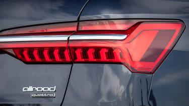 Audi A6 Allroad quattro estate rear lights
