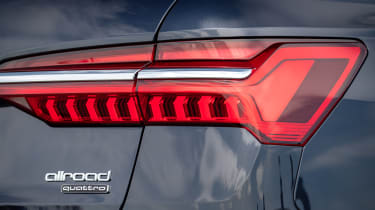 Audi A6 Allroad quattro estate rear lights