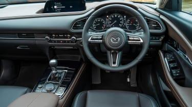 Mazda CX-30 SUV interior