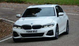 BMW 3 Series cornering