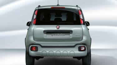 Fiat Panda mild hybrid - rear end