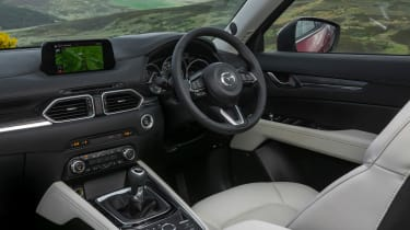 The dashboard is attractive to look at and functional to use