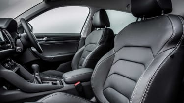 Only top-spec Edition versions of the Skoda Kodiaq come with leather upholstery as standard