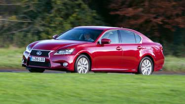 Lexus GS - front 3/4 dynamic