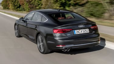 It's a rival to the BMW 4 Series Grand Coupe