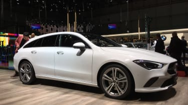 Mercedes CLA Shooting Brake at Geneva - front