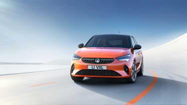 2020 Vauxhall Corsa-e - dynamic 3/4 LH view