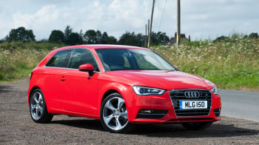The Audi A3 is the VW Group's most upmarket and expensive hatchback