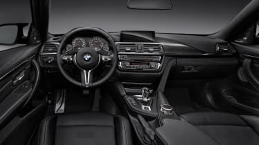 BMW M4 coupe 2014 interior