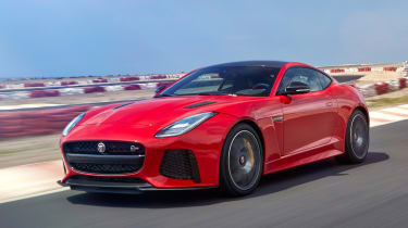 The SVR model remains the range-topping model, with the coupe capable of 200mph.