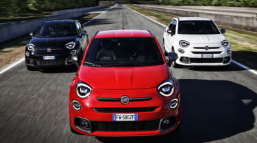 Fiat 500X Sport models