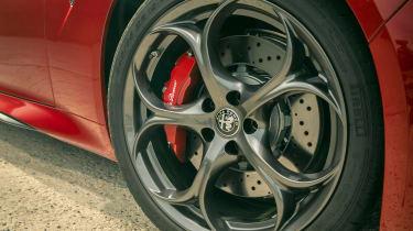 Alfa Romeo Giulia Quadrifoglio alloy wheels