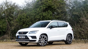 Cupra Ateca SUV - front 3/4 static view