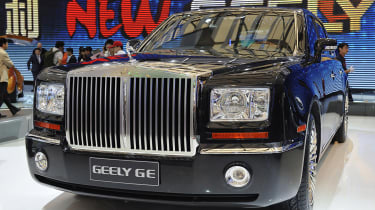 ...So Geely imitating it with the GE is a pretty brave move.