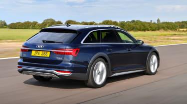 Audi A6 Allroad quattro estate rear 3/4 tracking