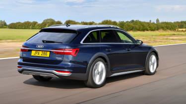 Audi A6 Allroad quattro estate rear 3/4 tracking