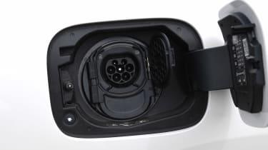 Mercedes EQC SUV charging port