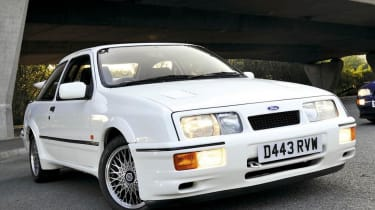 Ford Sierra RS Cosworth and RS500