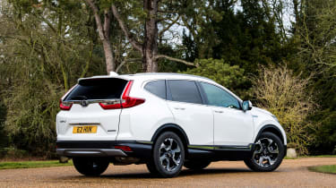 honda cr-v hybrid suv rear static