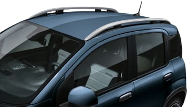 2020 Fiat Panda Cross - roof rails