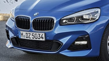 BMW 2 Series Gran Tourer front end