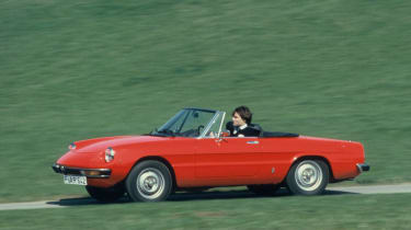 One of the most iconic shapes on the road, the Alfa Spider went through many iterations during its long life