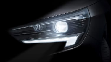 2019 Vauxhall Corsa teaser image