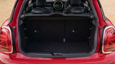 MINI Electric hatchback boot