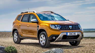 2018 Dacia Duster front three-quarter