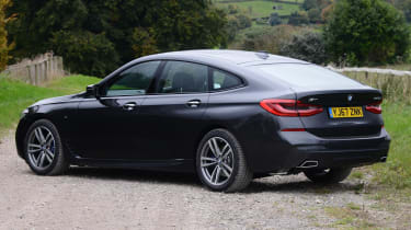 The 6 GT's sloping roofline detracts from outright rear headroom and boot space, but this is still a very spacious car